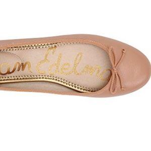 Sam Edelman soft pink ballet flat w comfy cushion!